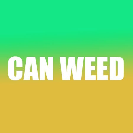 Can weed